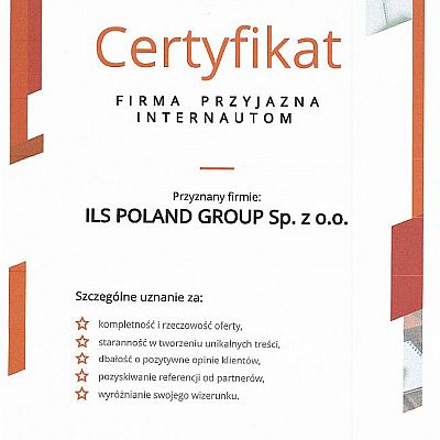 Certificate Friendly Company Internet Users